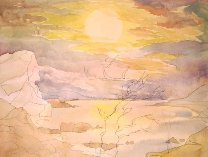 Уроки акварельной живописи для