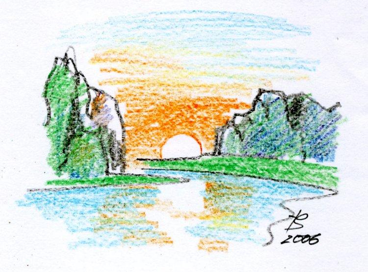 ранняя весна рисунки: